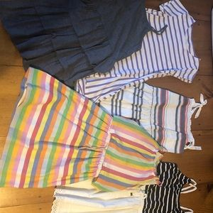 Lot of 5 girls dresses size 10